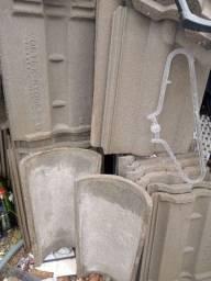 Título do anúncio: Vendo telhas cimento *