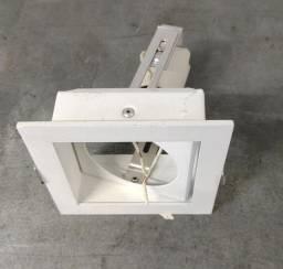 Luminárias de embutir 11 x 11 cm
