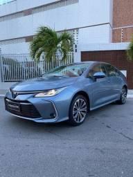 Título do anúncio: Toyota Corolla Altis  premium hybrid Aut cinza 2020 com apenas 10.000km