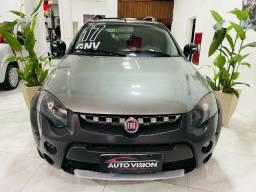 Título do anúncio: Fiat Strada  Cab 1.8 +Gnv 2017