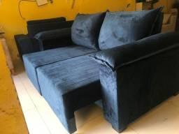 Sofá retrátil reclinável LUXO