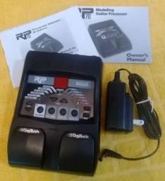 Pedaleira Pedal de Guitarra Digitech RP-70 - Estado de nova