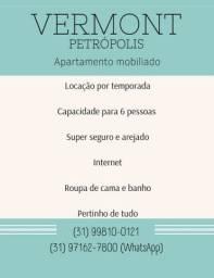 Título do anúncio: Apartamento temporada Petrópolis