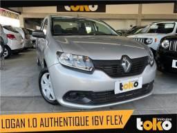 Título do anúncio: Renault Logan 2016 1.0 authentique 16v flex 4p manual