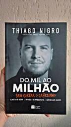 Título do anúncio: Livro Do mil ao milhão sem cortar o cafezinho