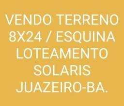 LOTEAMENTO SOLARIS 8x24
