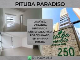 2 suítes, apartamento com 84m² na Pituba - Formoso