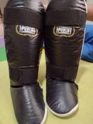 Título do anúncio: Caneleira Muay thai punch
