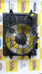 Defletor carenagem suporte ventoinha eletroventilador hyundai i30