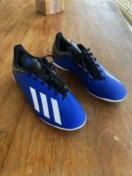Chuteira futsal Adidas 40