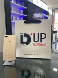 IPhone 7 Plus 32GB , Dourado seminovo com marcas de uso , saúde da bateria 80%