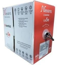 Cabo de rede Nexans Cat5e 100% cobre