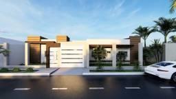 Casa com Arquitetura Moderna Jd Eco Valley, suíte e espaço gourmet