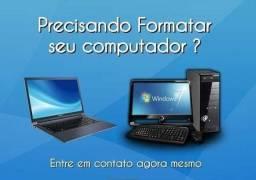 Formato ou limpeza de micro, notebook, tablet ou celular