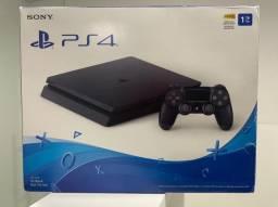 PlayStation 4 - PS4 Versão Slim, 1TB de memória + 10 jogos + 1 controle + 1 headset