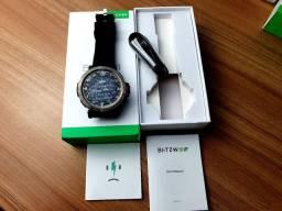 Relogio Smart Watch Blitzwolf At1 Freqüência Cardiaca Ip68