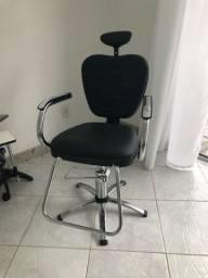 Cadeira Hidráulica Reclinável Luxo