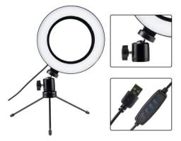 Ring Light de Mesa LED 16cm