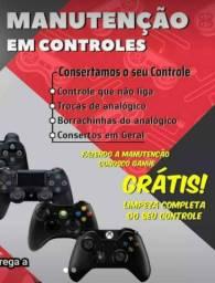 Conserto de controle de videogames e videogames compra