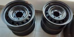 Roda de ferro hilux aro 17 polegadas