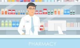 Balconista para farmácia