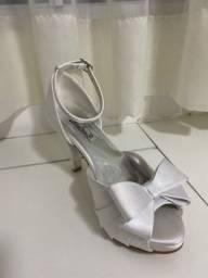 Sapato de noiva - dona rosa