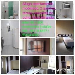 Apartamento Mobiliado no Eliza Miranda 2 quartos