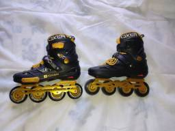 Patins Oxer Freestyle - In Line -freestyle / Slalom - Abec 9