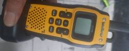 Rádio de comunicação usado mais todo completo com carregador
