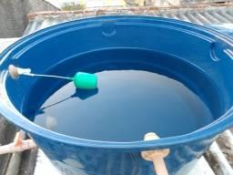 Caixa d'água estação e limpeza