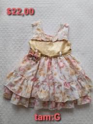 Título do anúncio: Vendo vestidos infantil