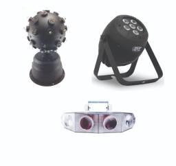 Máquinas de Iluminação diversas - Para Festas