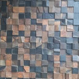 Pedra ferrugem decorativa (m2)