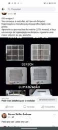 Ar condicionado Split ou Janela, higienização e limpeza.