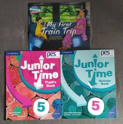 Apostila PES Positivo - Book Junior Time 5 Completo