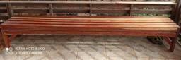Vendo esses dois banco de madeira