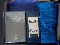 kit com perfume masculino top para presente