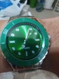 Relógio analógico unissex Quartz