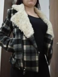 Jaqueta de pelinhos quentinha