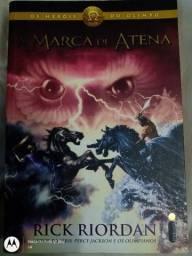 Livro Os Heróis do Olimpo,A marca de Atena,Percy Jackson em ótimo estado