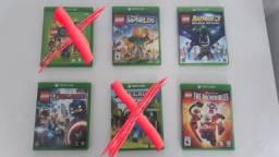Título do anúncio: Jogos Lego para Xbox one