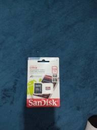 Título do anúncio: Cartão de memória SanDisk 128GB promoção!!!
