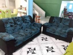 Título do anúncio: Jogo de sofá semi novo