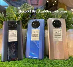 Título do anúncio: Poco X3 Pro Azul/Preto/Bronze 8+256Gb China