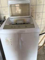 Máquina de lavar com defeito