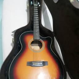 Vendo violão crafter com case