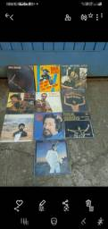 Coleção de vinil do Raul  Seixas com 10disco
