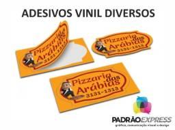 Título do anúncio: Fábrica de Adesivos em vinil recortados e com pequenos formatos.