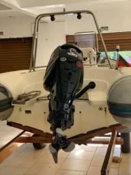 Lancha ( Bote )Inflável para pescar 6 metros semi novo G600 Zefir - 2014