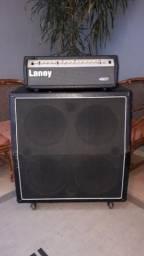 Amplificador de guitarra cabeçote Laney TF700 + caixa gabinete 4x12 Warm Music comprar usado  Belo Horizonte